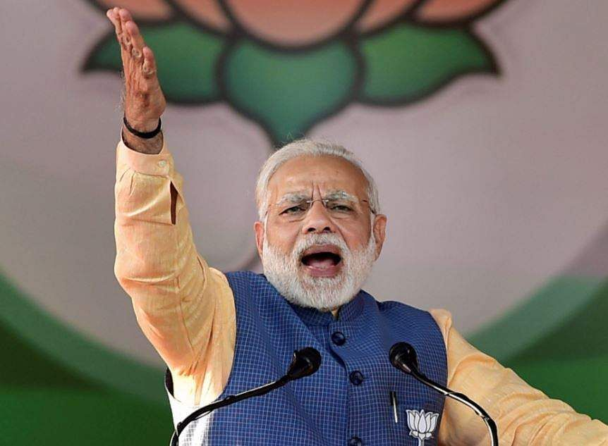 From Partition to bad loans, Modi blames Congress for all ills