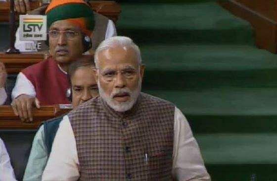 Congress protests in Rajya Sabha against PM Modi's remark on Renuka Chowdhury