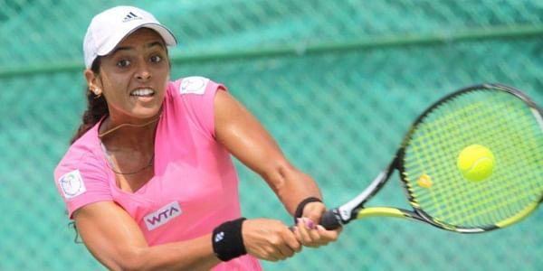 Indian tennis star Ankita Raina ( File   EPS )
