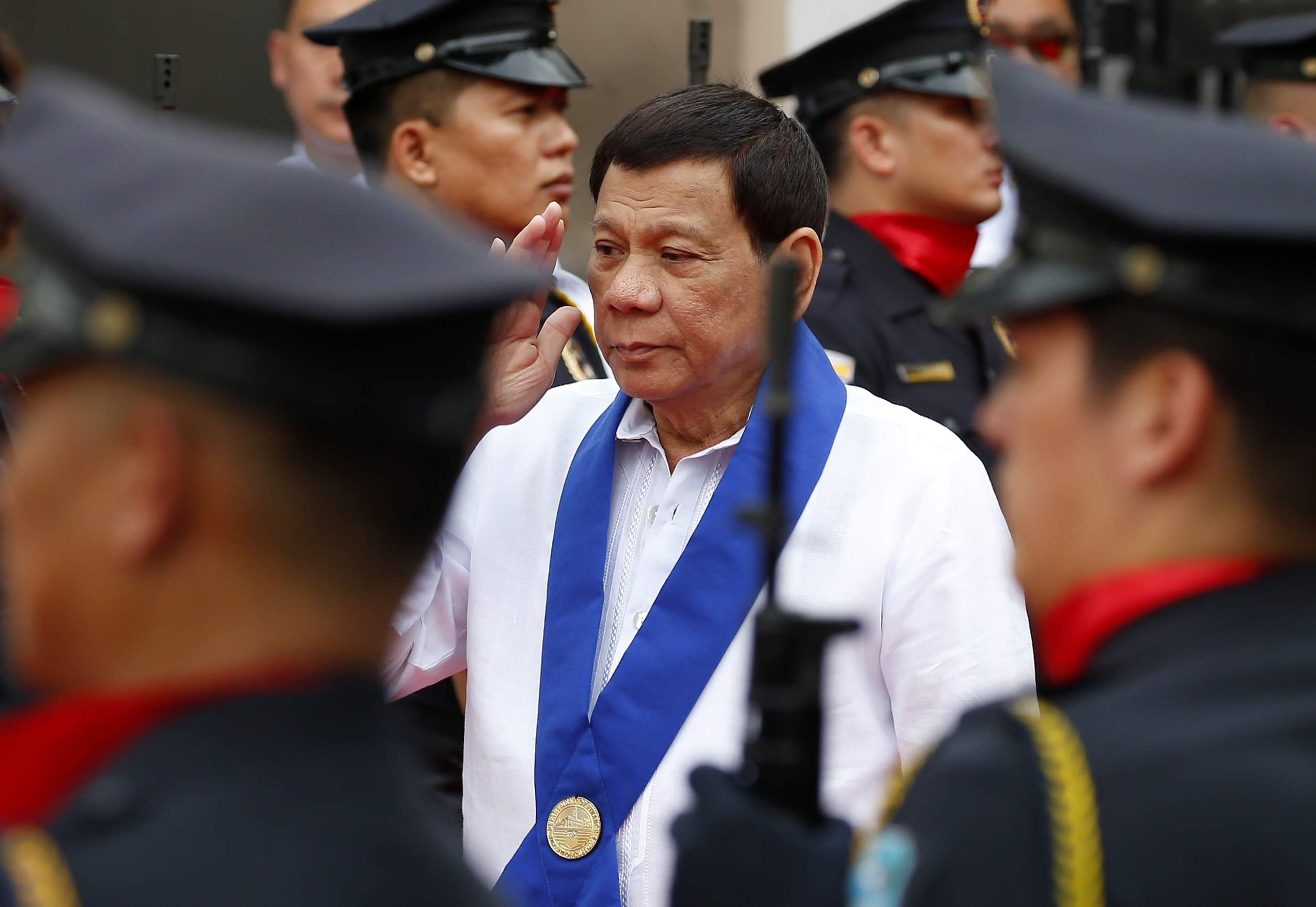 Philippine Strongman Duterte Crushes 30 Smuggled Luxury Cars with a Bulldozer
