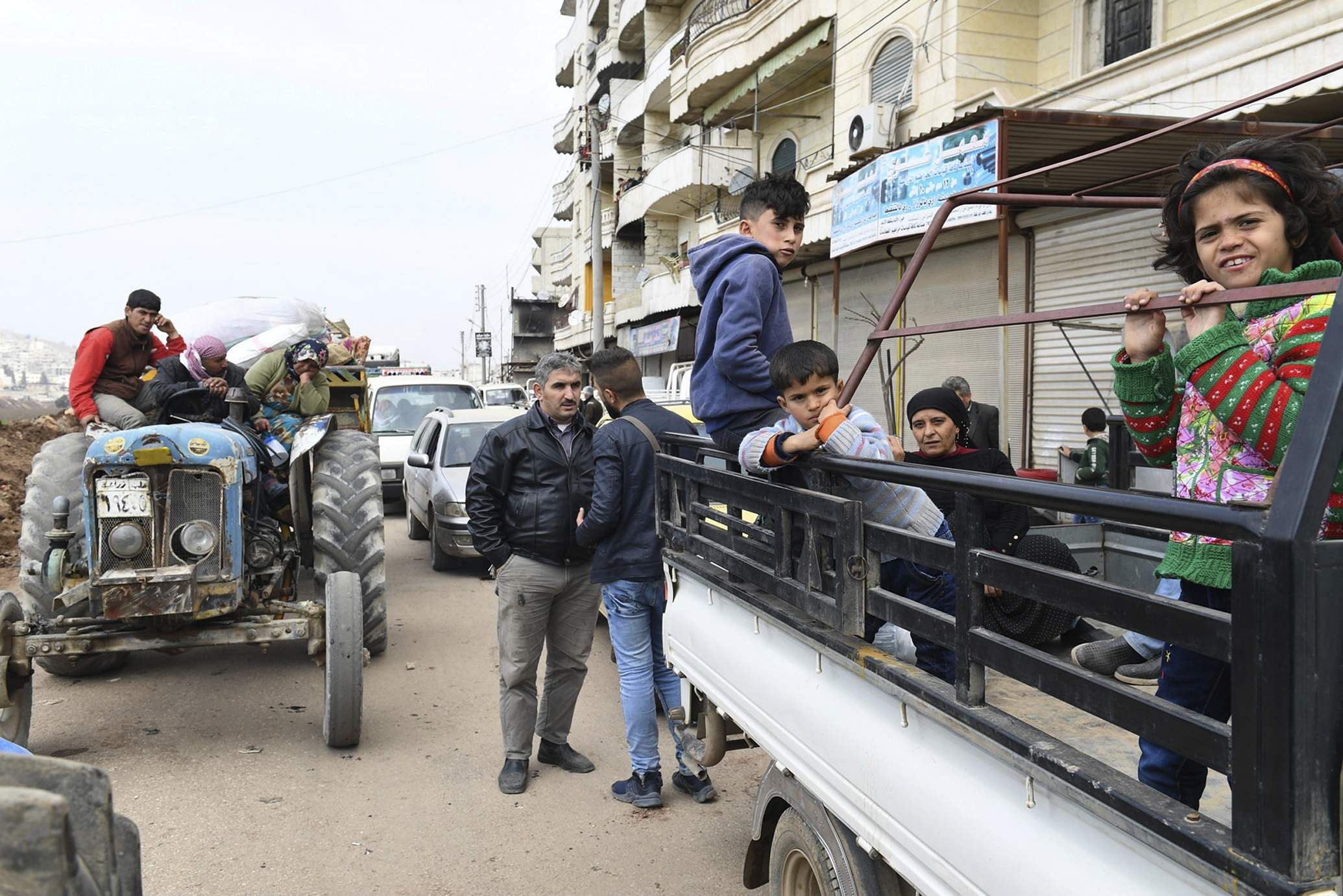 Turkey, FSA free Jinderes town center in Syria's Afrin