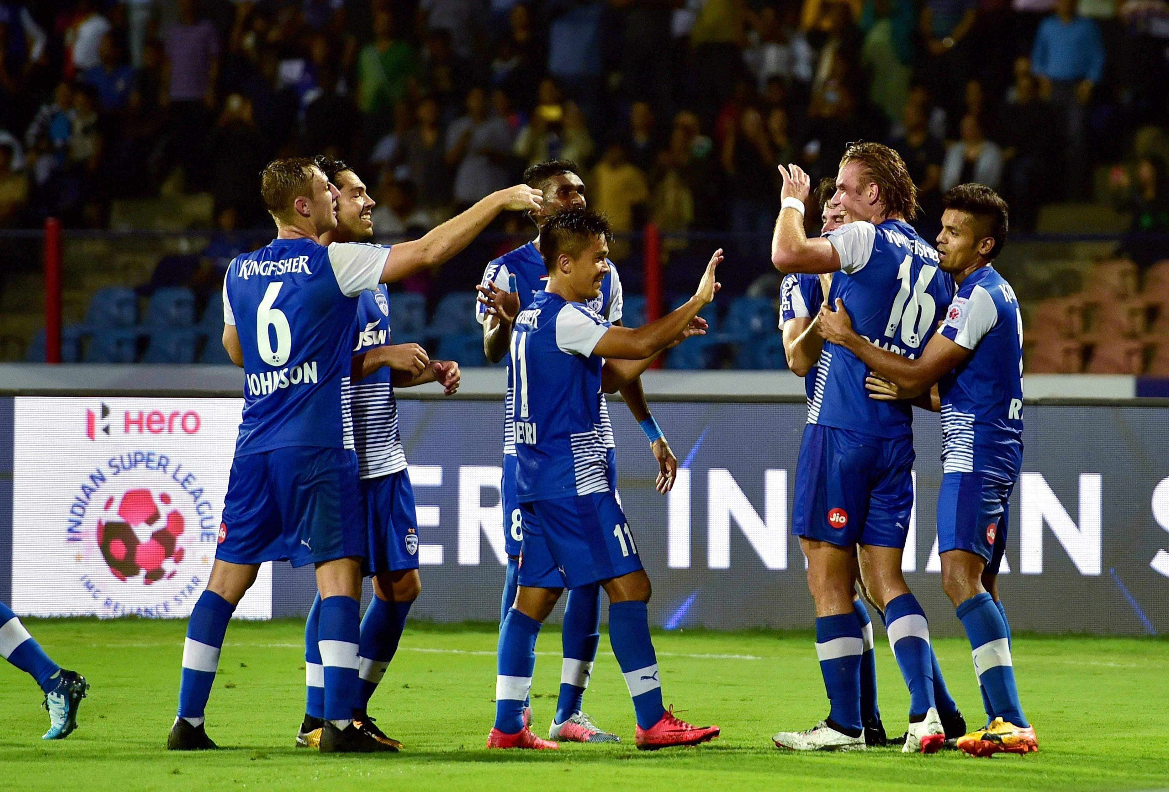 BFC storms into ISL final as Chhetri dazzles with hat-tric