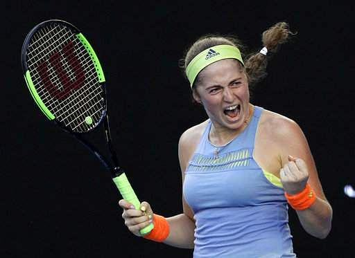 Jelena Ostapenko edges out Elina Svitolina to reach Miami Open semi-finals
