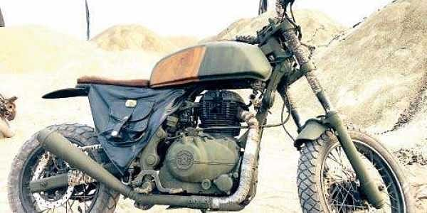 Cinematographer Bhuvan Gowda Reboots A Royal Enfield Triumph For
