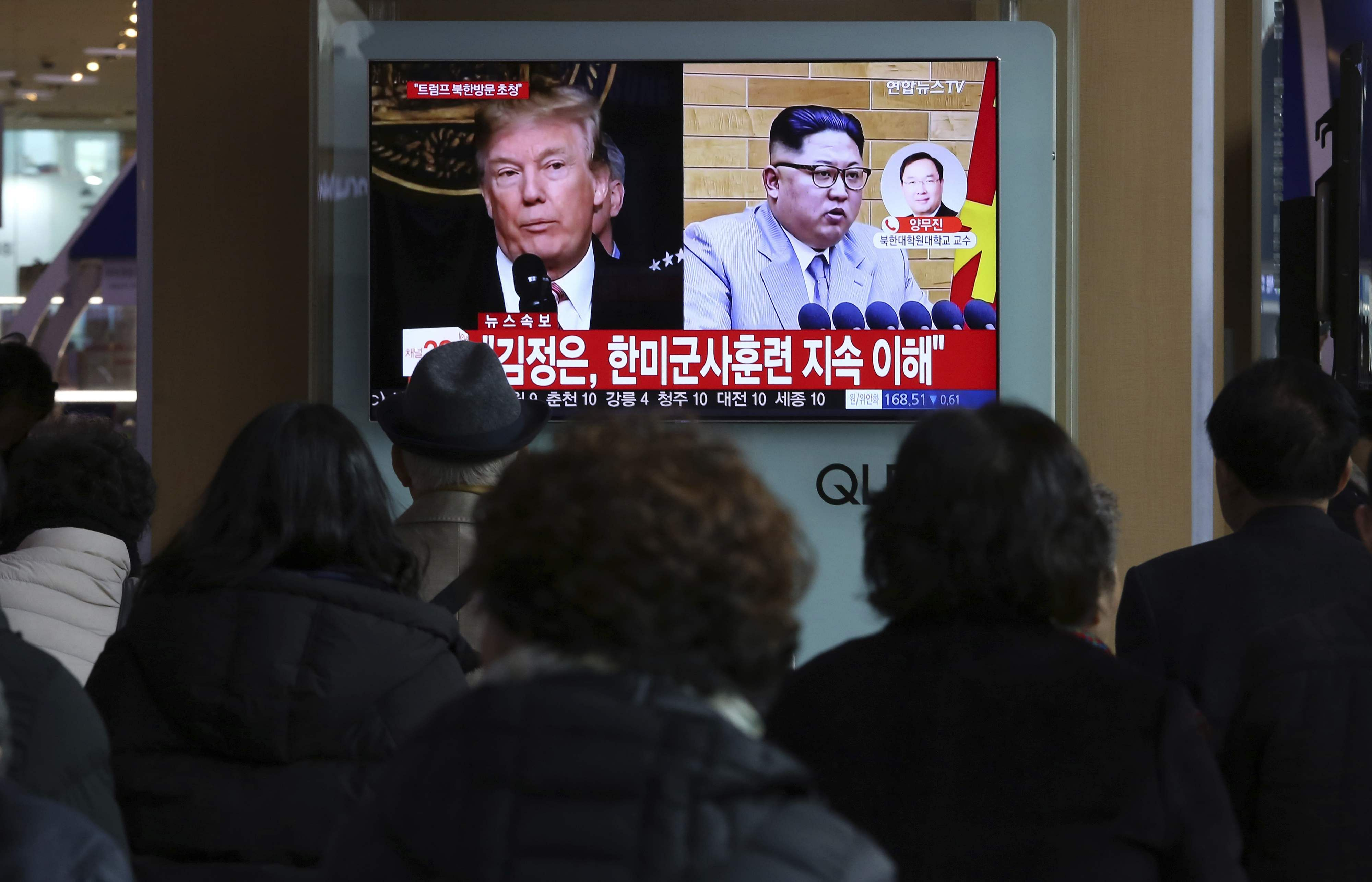 USA  officials say Trump-Kim meeting not just theater