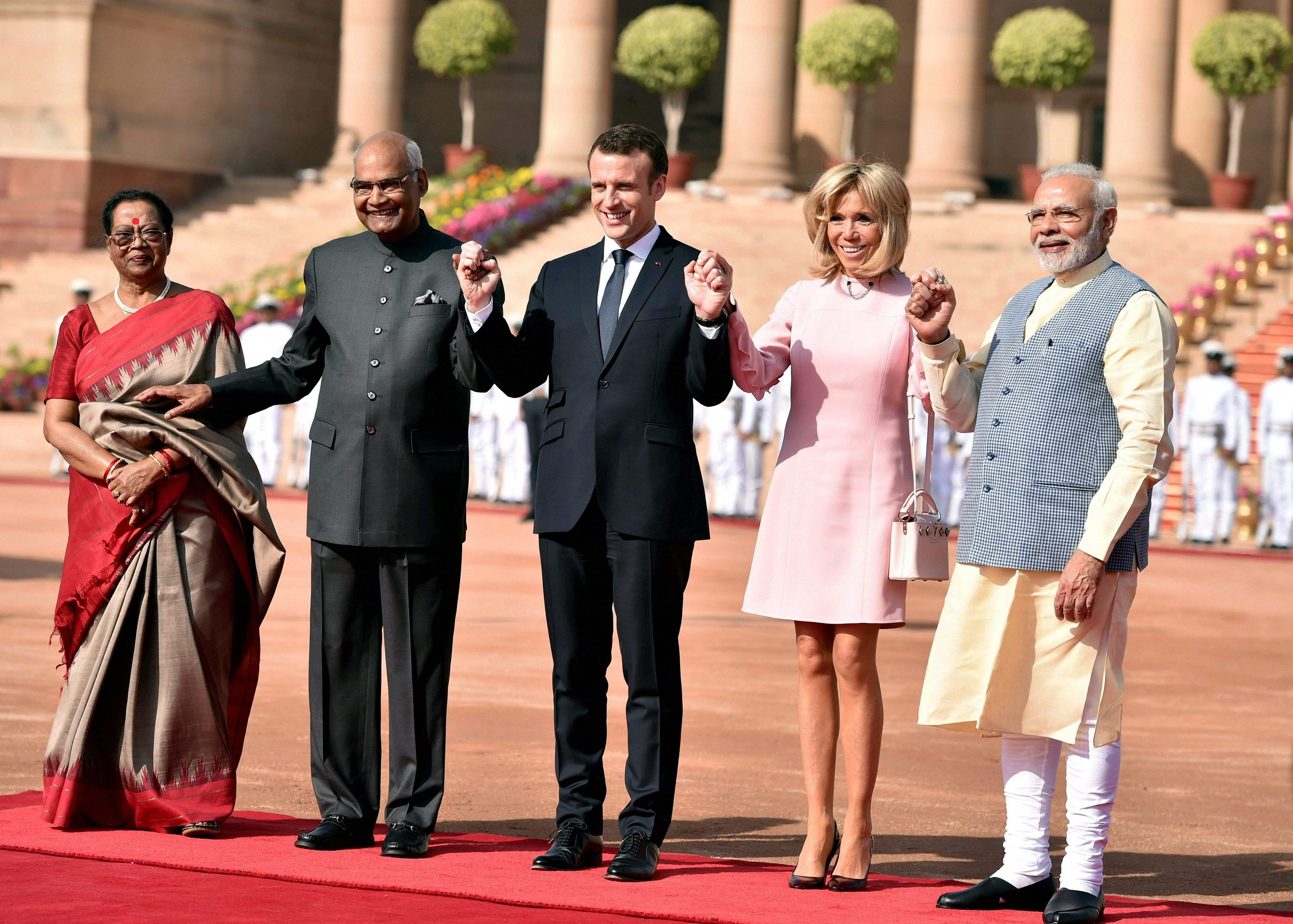 French President Emmanuel Macron S Four Day Visit To India See Pictures The New Indian Express