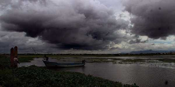 """""""A fresh trough of low pressure at mean sea level currently lies over the Southwest Bay and adjoining Sri Lanka and a low pressure area is likely to form over South Andaman sea and neighbourhood during next 72 hours,"""" Met officials said. (Photo: EPS/K.K.Sundar)"""