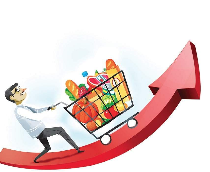 Retail inflation at 4-month low of 4.44 per cent