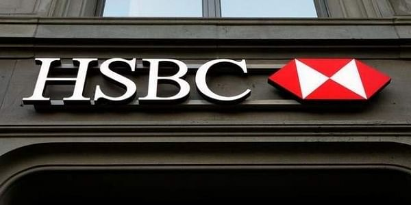 The HSBC bank logo is pictured at a branch office in Zurich. (File photo | Reuters)