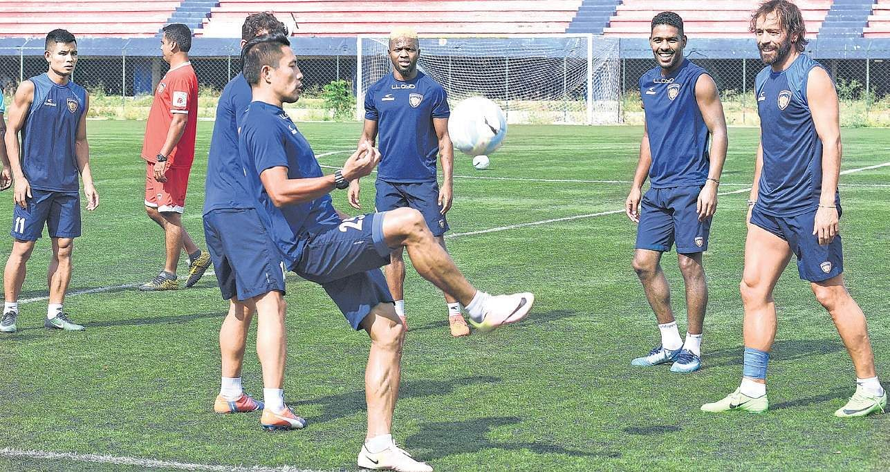 Live football score, Bengaluru FC vs Chennaiyin FC, Indian Super League final