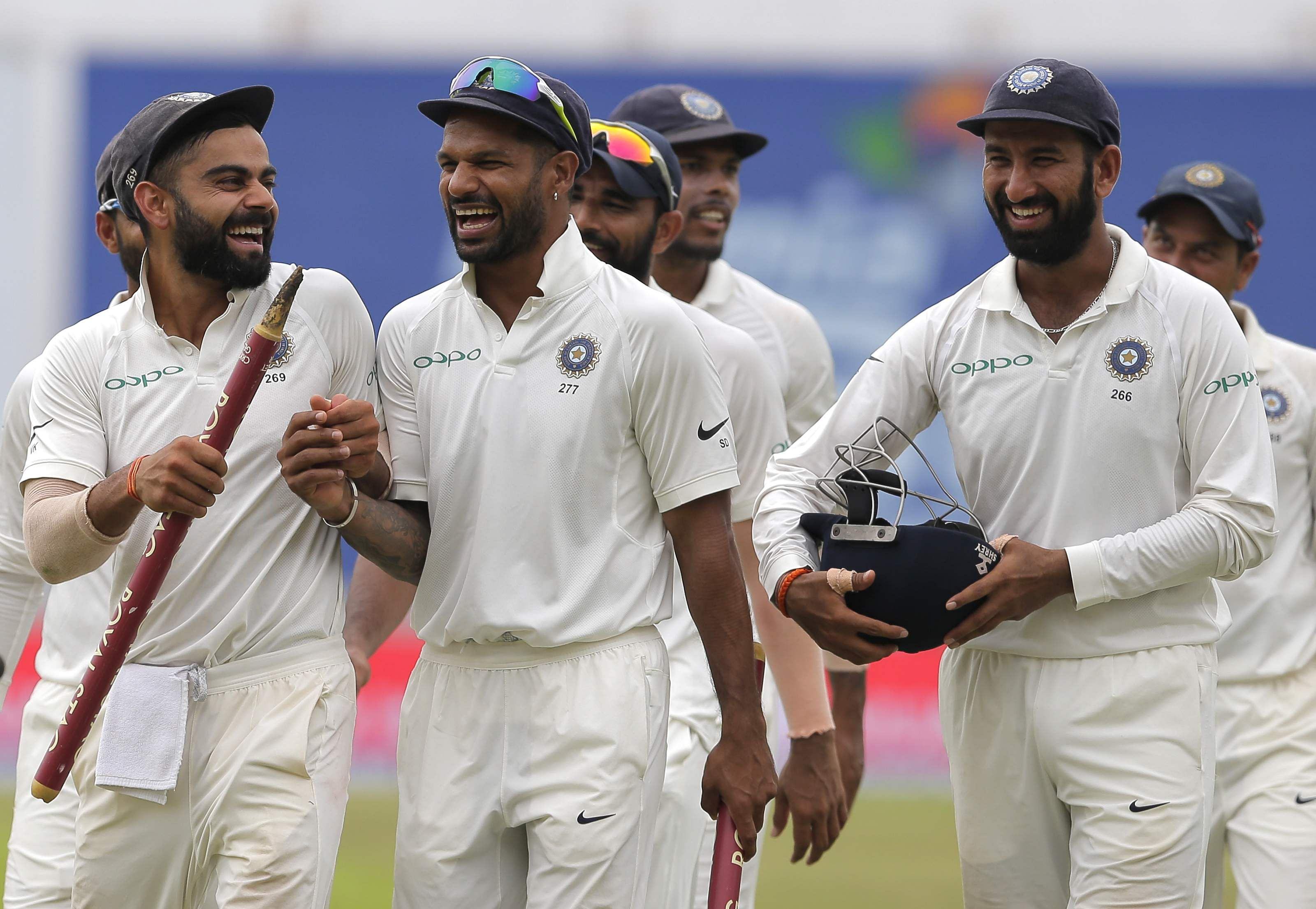 Hyderabad and Rajkot will host two Test matches against the West Indies