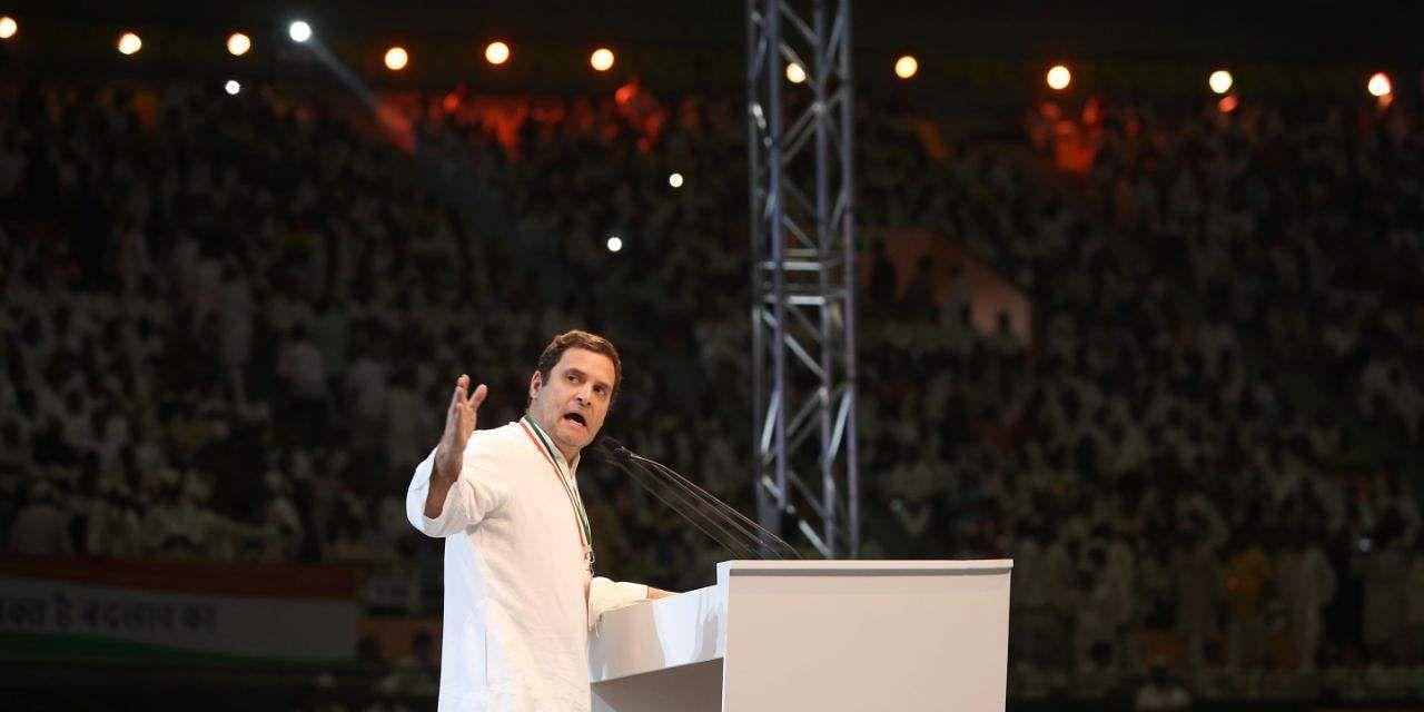 Congress will fight like Pandavas, says Rahul Gandhi