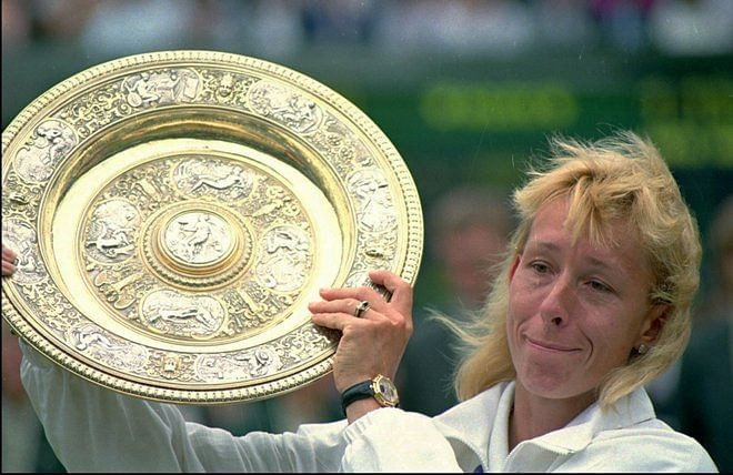 Navratilova paid 10 times less than McEnroe for Wimbledon