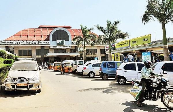 The busy CMBT bus terminus receives more than 60,000 footfalls a day | file photo