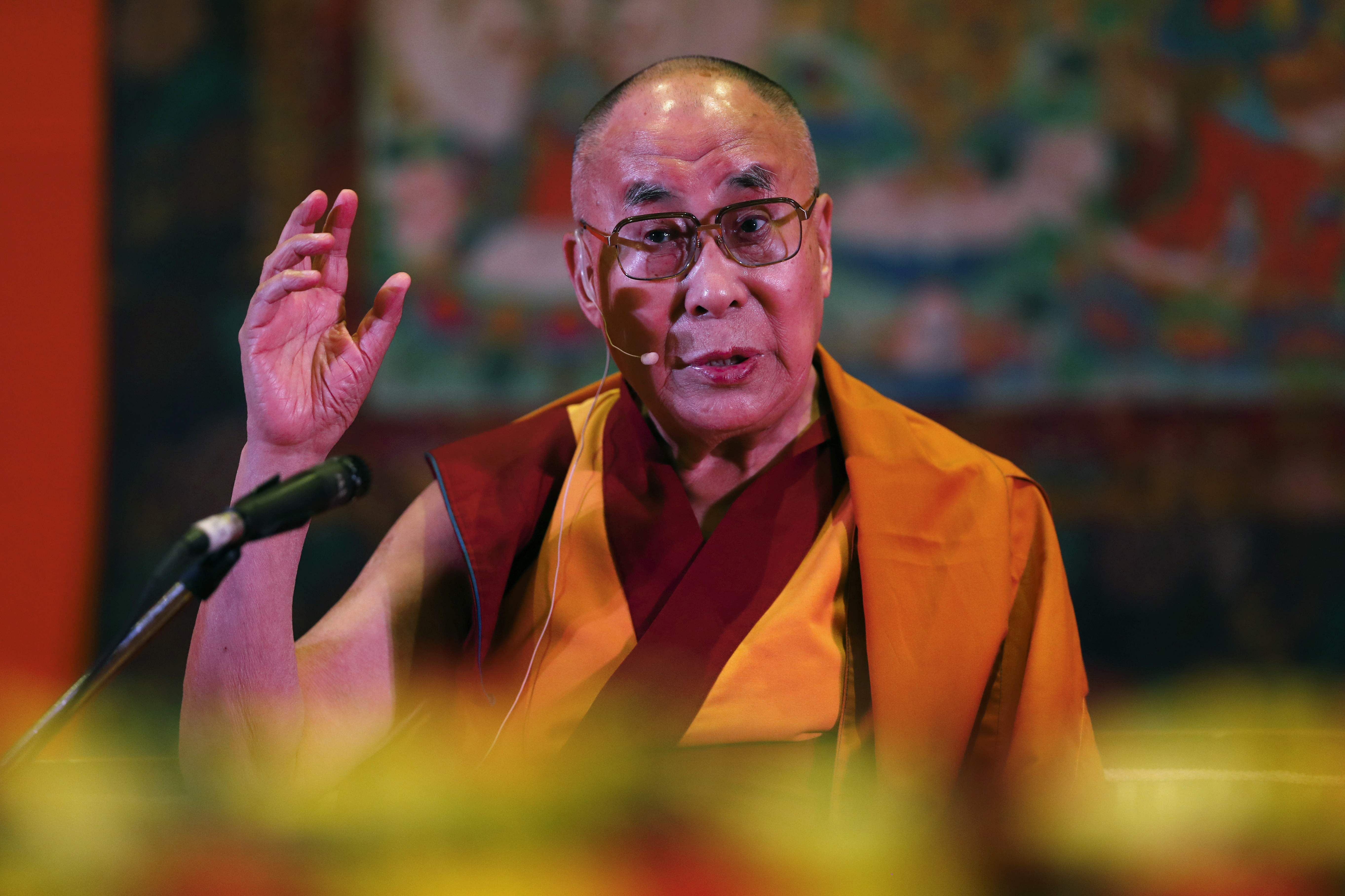 Dalai Lama a revered figure, no restrictions on him