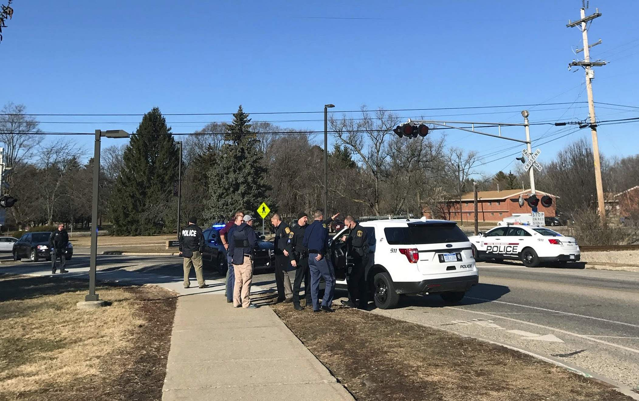 Suspect in Central Michigan University shooting in custody