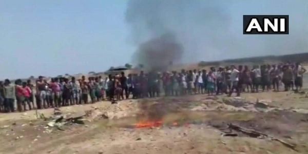 An Indian Army plane has crashed in Jharkhand's East Singhbhum district on Tuesday, police said.