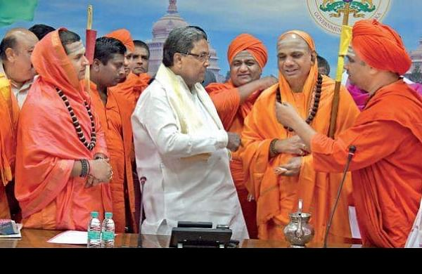 Seers met Chief Minister Siddaramaiah last week to press for an early decision on the minority status row | express