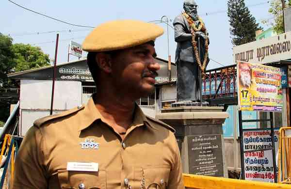 CRPF man held for damaging Periyar statue in Pudukkottai- The New