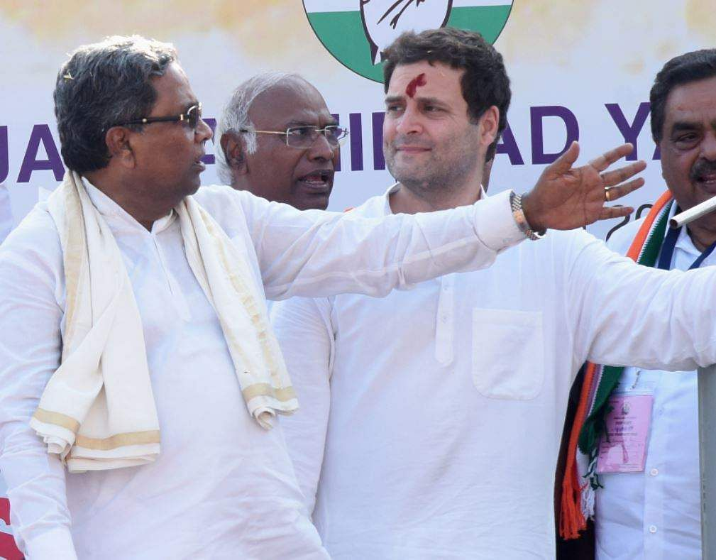 BJP 'attacking' Constitution, Modi 'insensitive': Rahul Gandhi in K'taka