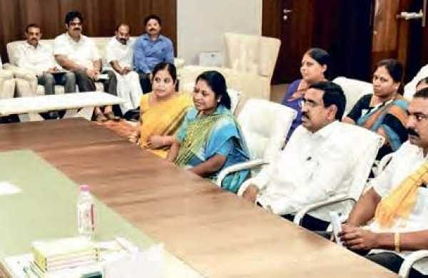 CM N Chandrababu Naidu conducting a meeting with MLAs, MLCs, to discuss Amaravati housing project  | Express