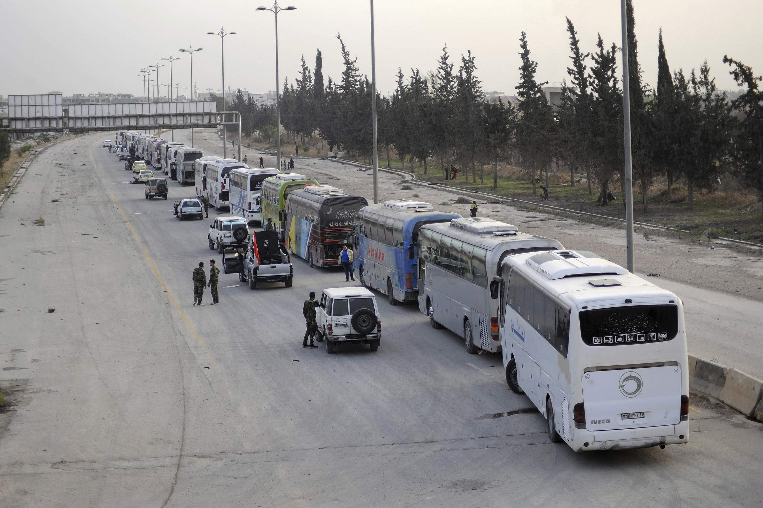 Syrian Rebels Agree to Evacuate Sick, Wounded From Ghouta