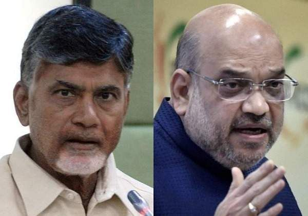 Shah writes to Naidu, says TDP left NDA for political consideration
