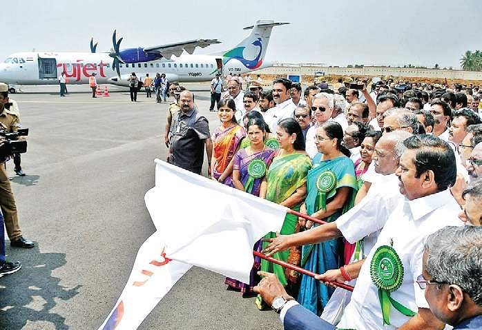 Salem-Chennai flight services begin. | Tamil Nadu News