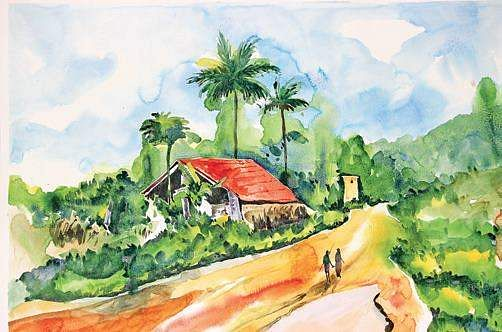 picturesque famous living artists today. BENGALURU  A group of contemporary artists are displaying their work celebrating Bengaluru s spring summer in March through an exhibition Grishma Place where reminisce