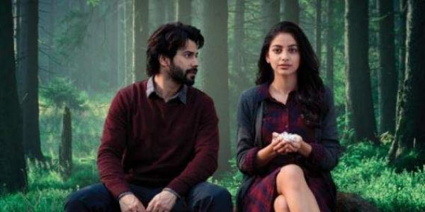 Varun Dhawan and Banita Sandhu in the official poster of October.
