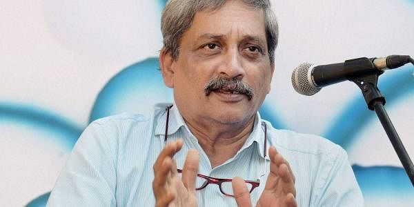 Weak-looking Parrikar addresses BJP meet via video