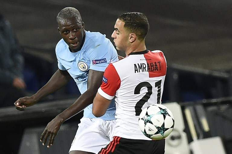 City's Mendy targets return for Manchester derby