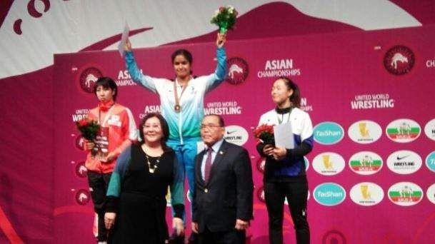 Navjot Kaur makes history on the mat at Asian Wrestling Championships
