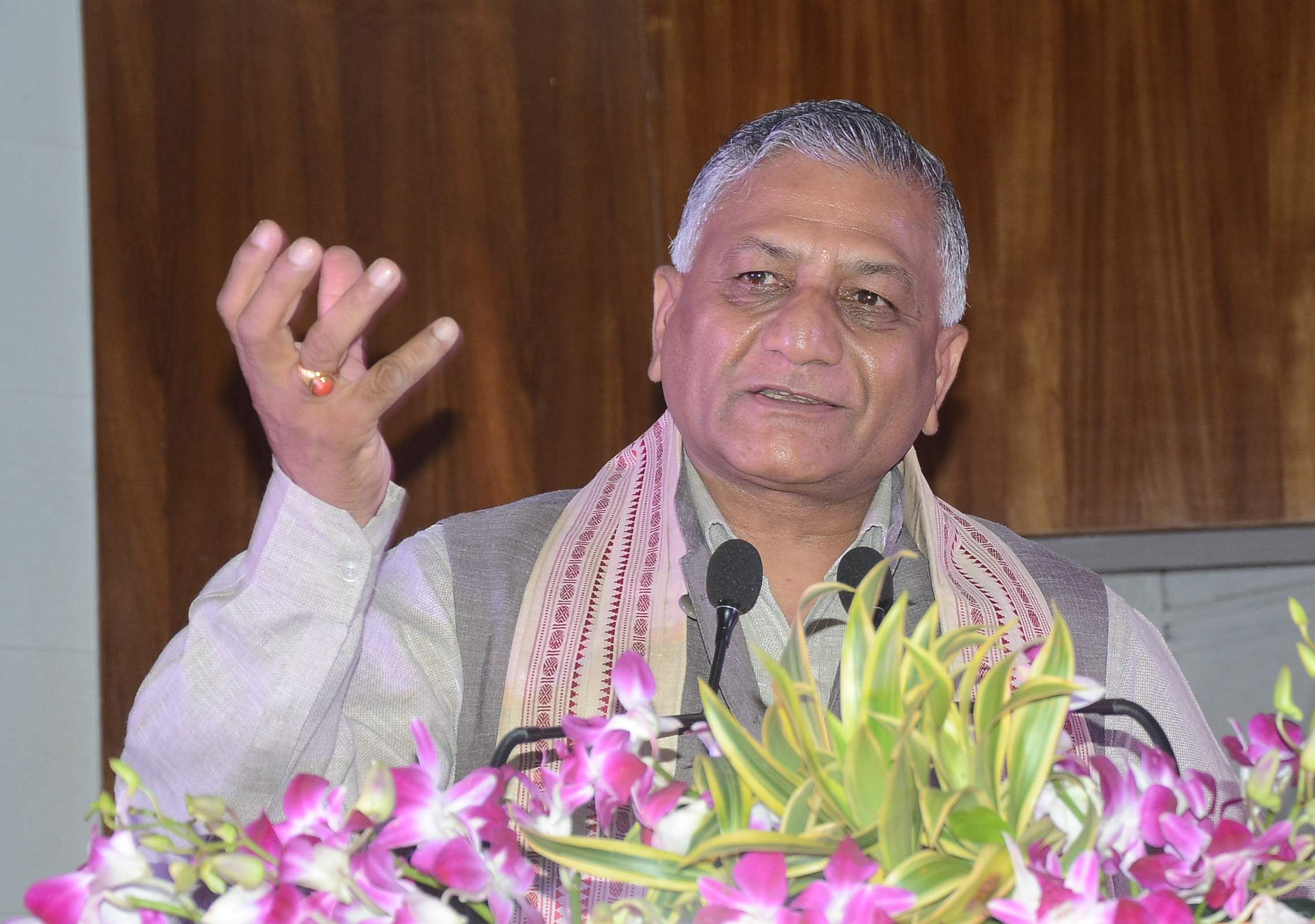 Giving compensation is not like distributing biscuits: VK Singh