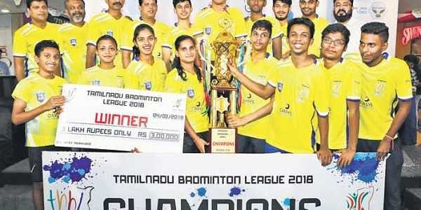 Smash hit: Mall fillip for TN badminton- The New Indian Express