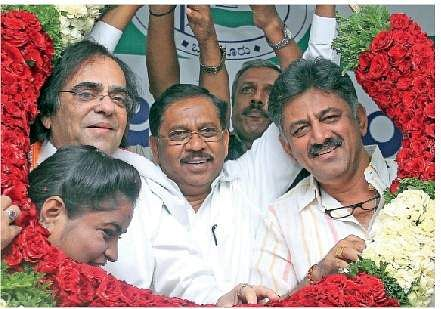 Kheny's entry into Congress puts JD(S)-Congress coalition in peril in Karnataka