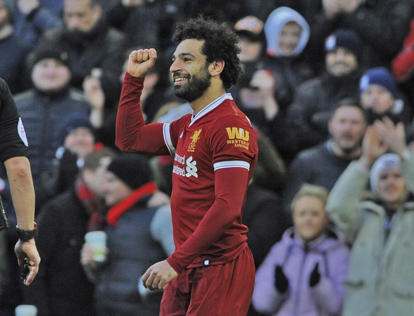 Mohamed Salah named February Player of the Month