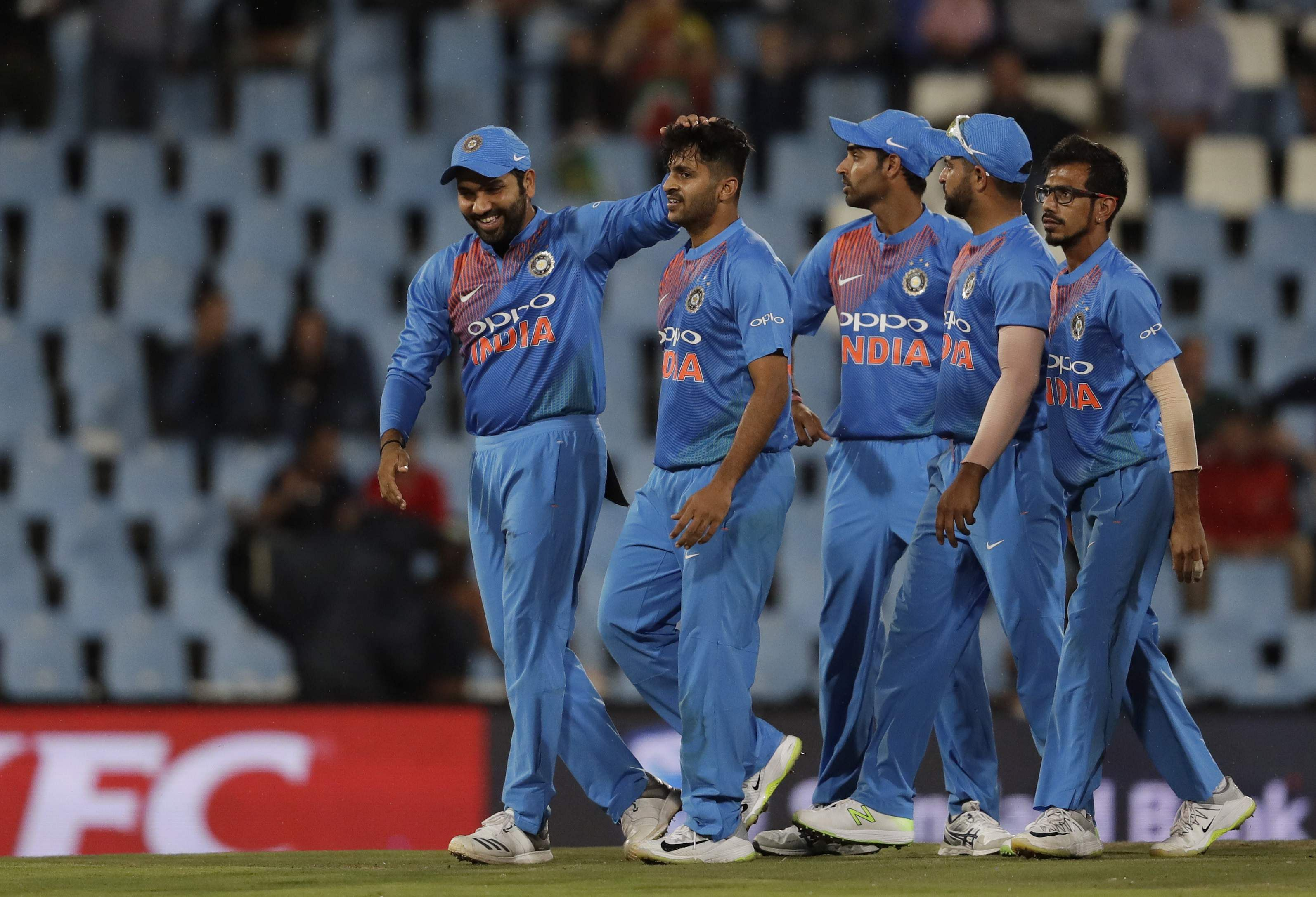 Opener Shikar Dhawan Leads India Past Bangladesh in T20 Tri-Series