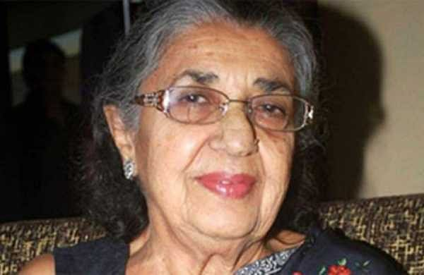 Shammi, Shammi Aunty as she is fondly known, is a veteran Bollywood actress who appeared in over 200 films since 1949. Her real name is Nargis Rabadi and she is a Parsi.  (Photo | Twitter/ Free Press Journal)