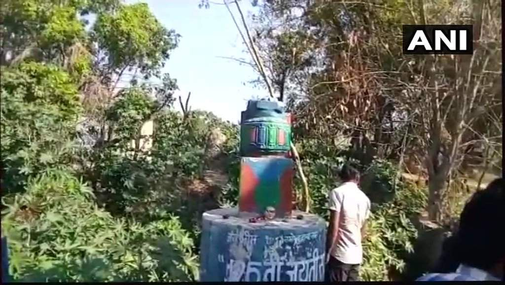 Ambedkar statue vandalised in Meerut
