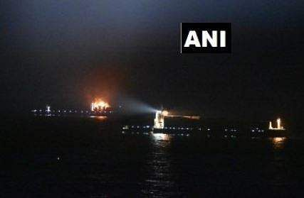 Four missing after 'serious fire' on cargo ship in Arabian Sea