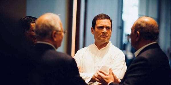 Congress President Rahul Gandhi on Thursday met Indian-origin CEOs of various companies in Singapore and discussed issues such as jobs, investments, and the prevalent economic condition in India.