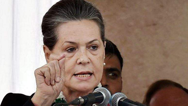 BJP-led NDA muzzling voices of opposition: Sonia Gandhi