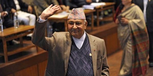 Nepal PM Khadga Prasad Sharma Oli.   File PTI