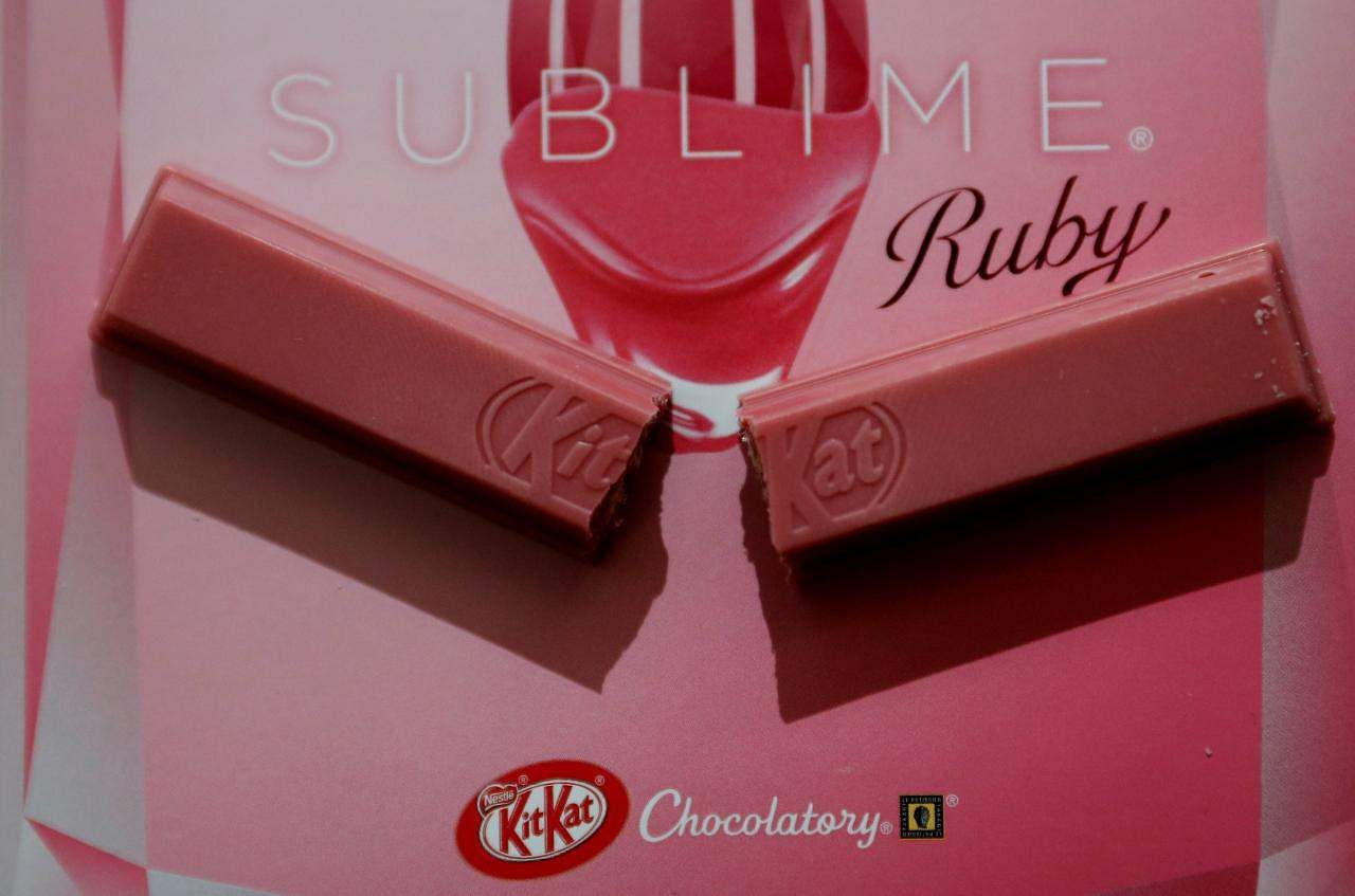 Ruby chocolate KitKats are coming to the United Kingdom next week