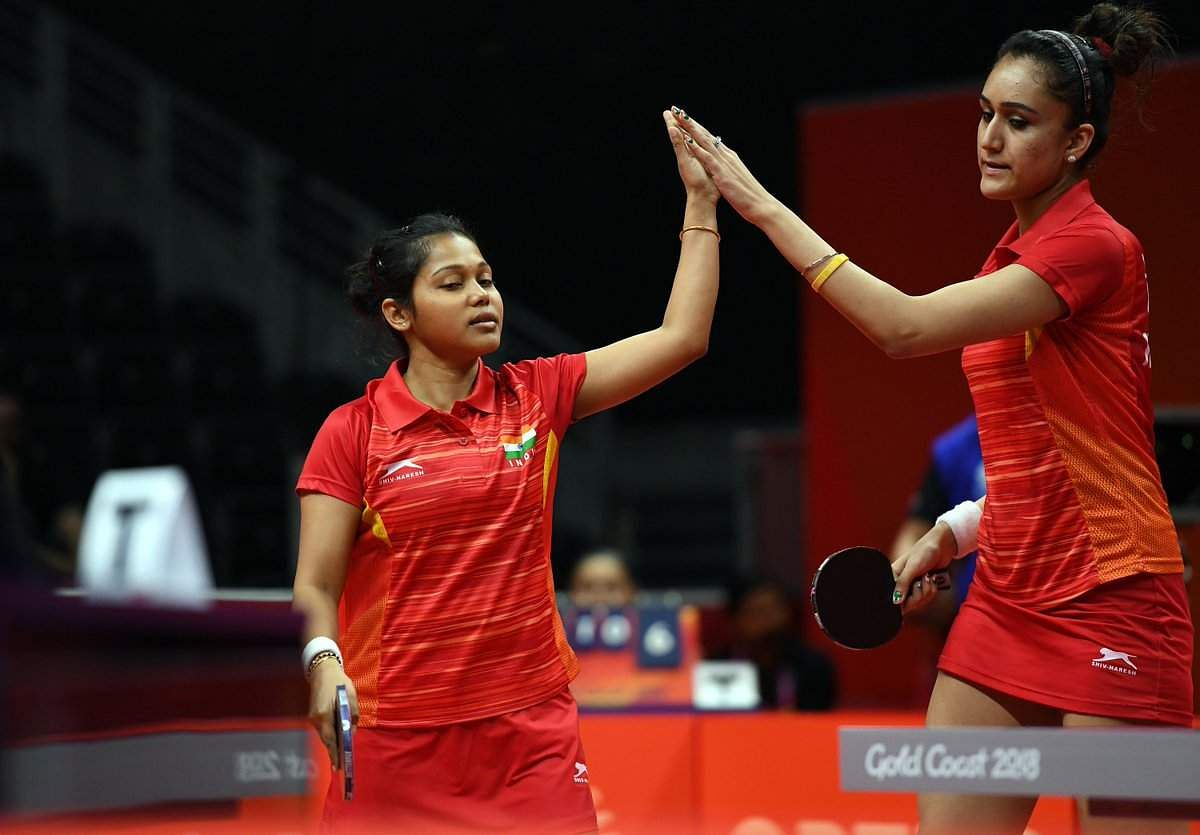 Commonwealth Games: Manika-Mouma clinch silver in TT