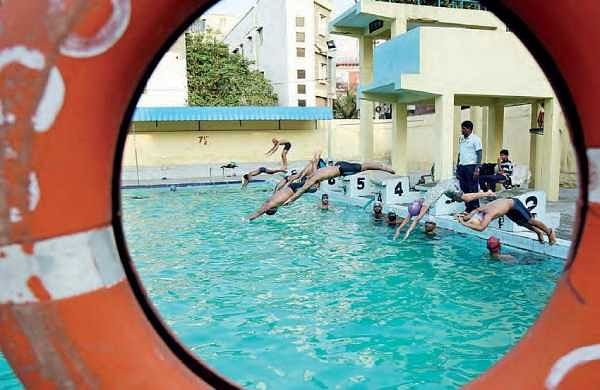 Swimming pools of telangana turn hell holes for children the new indian express for Swimming pool maintenance in hyderabad