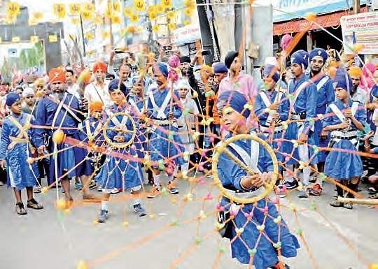 Sikh community celebrates Vaisakhi
