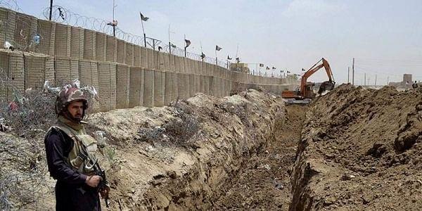 Chaman post, Pakistan, Afghanistan border, Durand line