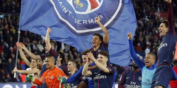 At the end of 90 minutes, Paris Saint Germain romped to a comfortable 7-1 win against Monaco in the French League One Cup final at the Parc des Princes stadium in Paris. (AP)